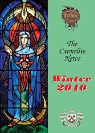 Carm News WINTER 10w - British Province of Carmelite Friars