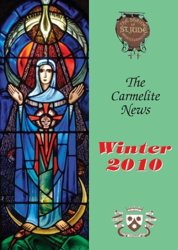Carm News WINTER 10w - British Province of Carmelite Friars