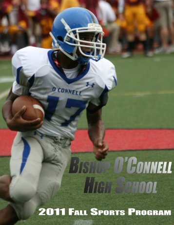 djo fall sports 2011final1.indd - Bishop O'Connell High School