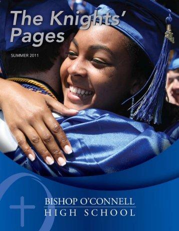 Summer 2011 - Bishop O'Connell High School