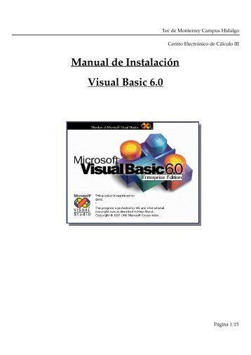 Descargar Manual de instalación de Visual ... - Mundo Manuales