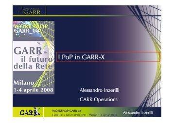 I PoP in GARR-X