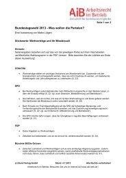 Bundestagswahl 2013 - Bund-Verlag GmbH