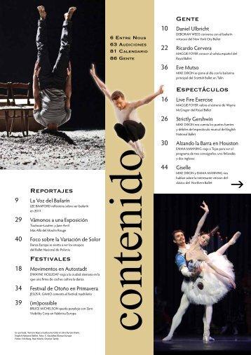 Espectáculos Gente Reportajes Festivales - Dance Europe