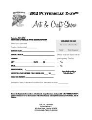 Craft Show Application-Commercial Booth - Boone Chamber Of ...