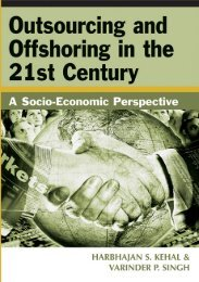 Outsourcing and Offshoring in the 21st Century : A Socio ... - Csbdu.in