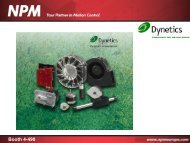 Booth 4-490 Item Linear Shaft Motor