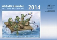 Abfallkalender 2014