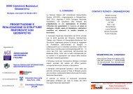 progettazione e realizzazione di strutture rinforzate con ... - Anidis