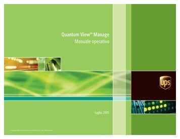 Quantum Viewsm Manage Manuale operativo