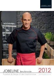 JOBELINE Berufsmode Funktion & Design in der Gastronomie