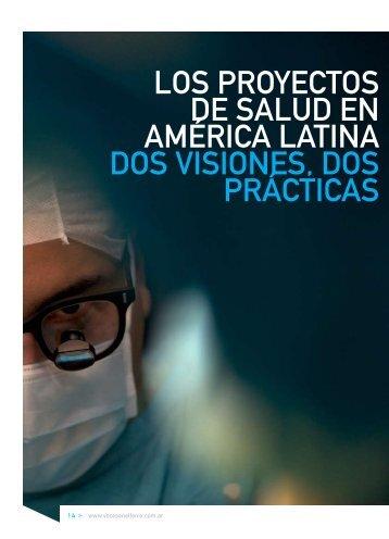 los proyectos de salud en américa latina dos ... - Voces en el Fenix