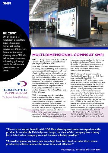 SMFI Casestudy (PDF 698 Kb) - Cadspec