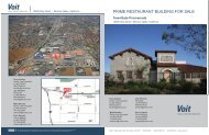 TownGate Promenade.indd - Voit Real Estate Services