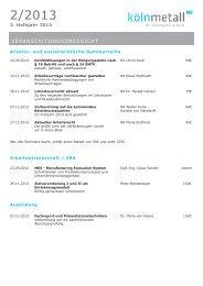 Seminarübersicht - Unternehmerverbände Rhein-Wupper
