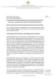 Positionen 20.01.2012 - Unternehmerverbände Rhein-Wupper