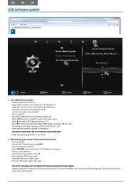 USB software update - UMC - Slovakia