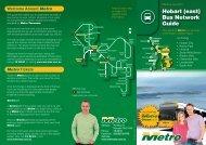 Hobart (east) Bus Network Guide - Metro Tasmania