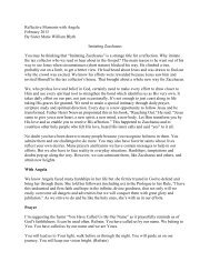 February 2013: Imitating Zacchaeus - Ursuline Sisters of Mount ...
