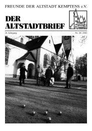 Download (PDF 1.3 MB) - Freunde der Altstadt Kemptens eV