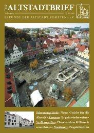 Download (PDF 2 MB) - Freunde der Altstadt Kemptens eV