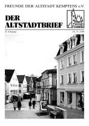 Download (PDF 1.1 MB) - Freunde der Altstadt Kemptens eV
