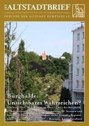 Download (PDF 1.2 MB) - Freunde der Altstadt Kemptens eV