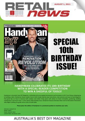 SPECIAL 10th BIRTHDAY ISSUE! - Netonline.com.au