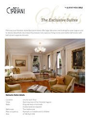 Hotel Cipriani - Exclusive Suites - by Orient-Express