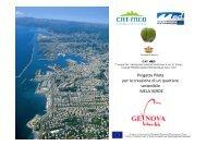 il lavoro fin qui svolto - Urban Center - Comune di Genova
