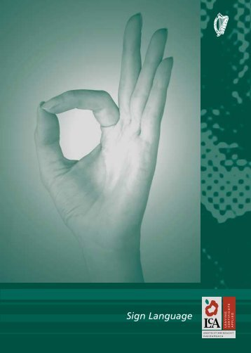 Sign Language - PDST