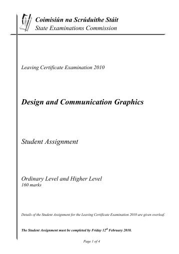 Design and Communication Graphics (DCG)