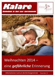 Magazin Kalare Dez. 2013