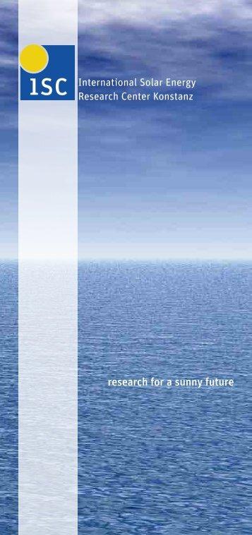 View/download (.pdf) - ISC Konstanz