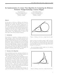 An Implementation of a Linear Time Algorithm for Computing the ...