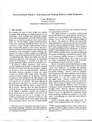 Position-Based Physics - Canadian Conference on Computational ...