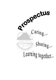 Prospectus - Mountain Creek State School - Education Queensland