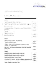 Preisliste Juni 2008 – elektronenrad.de Motoren Crystalyte Hub ...