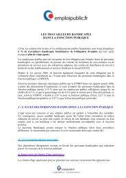 Les travailleurs handicapés - Emploipublic.fr