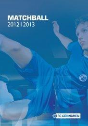 Flyer Matchball - FC Grenchen