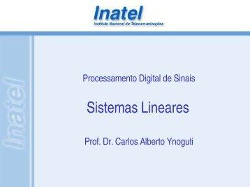 Sistemas Lineares - Inatel