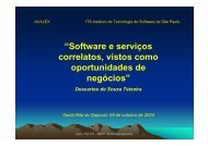 serviços - Instituto Nacional de Telecomunicações