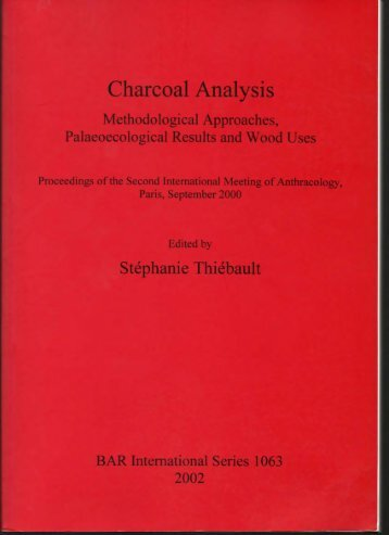 Charcoal Analysis - Willcox, George