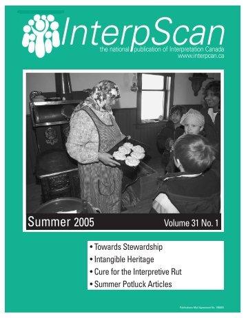 Summer 2005 - InterpScan.ca