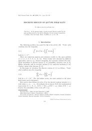 DISCRETE RESULTS OF QI-TYPE INEQUALITY 1. Introduction The ...