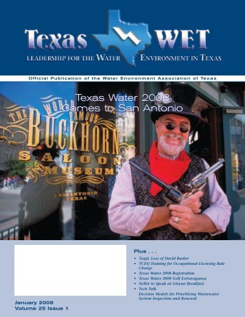 January 2008 - Water Environment Association of Texas