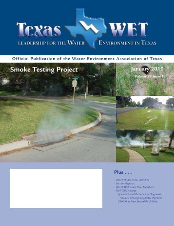 January 2010 - Water Environment Association of Texas