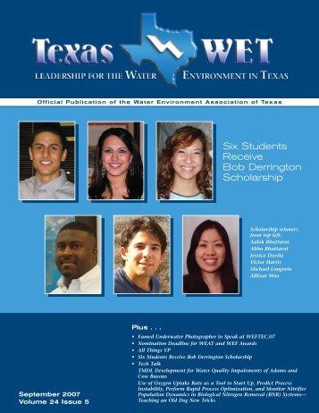 September 2007 - Water Environment Association of Texas