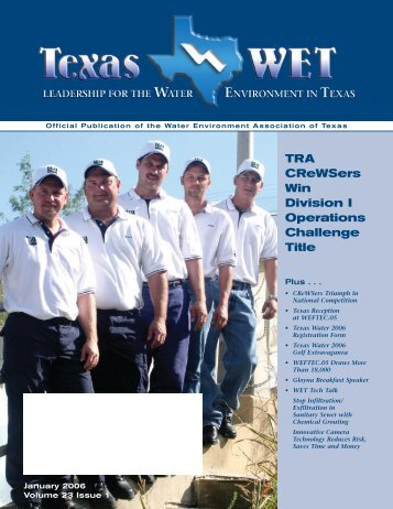 January 2006 - Water Environment Association of Texas