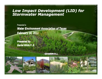 LID - Water Environment Association of Texas